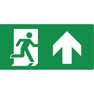 firsaco-pictogrammen-nooduitgang-rechtdoor